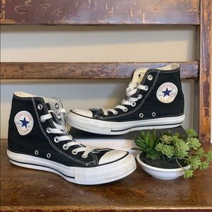 Converse All Star Classic High Top Sneakers Black